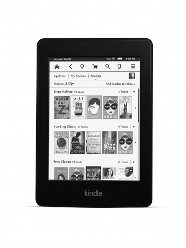 Social Networking site, Goodreads © Amazon | Kindle Paperwhite