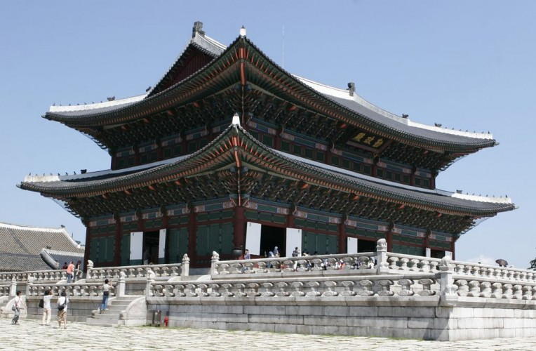 Gyeongbokgun, Palace, National Folk Museum of Korea © Eugenedev | Dreamstime