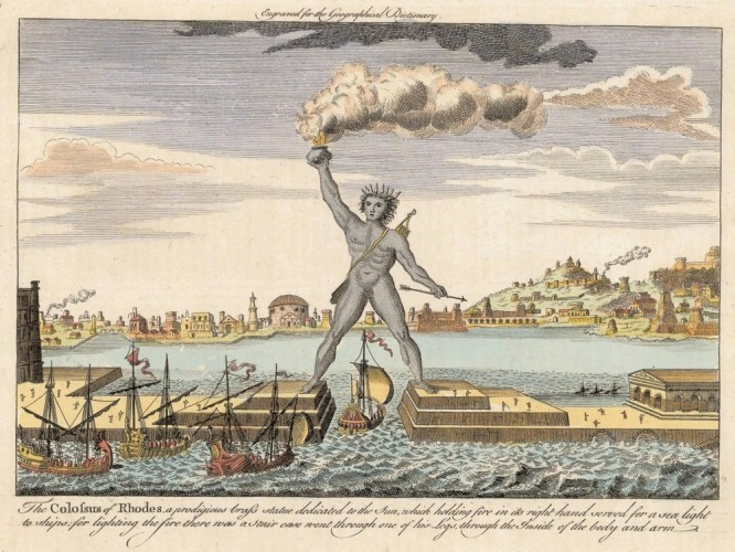 Helios, The Colossus of Rhodes, Mandraki Harbor © Nathan Hughes Hamilton | Flickr