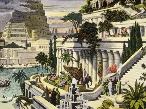 The Hanging Gardens of Babylon, by 16th-century Dutch artist Martin Heemskerck © Sofiaworld | Flickr