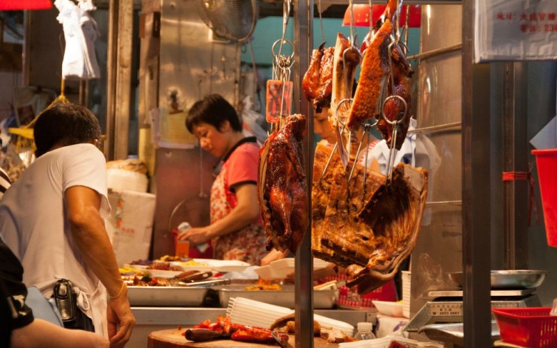 Cantonese Meat Shop in Hong Kong © Ken P.s. Wong | Dreamstime 41804251