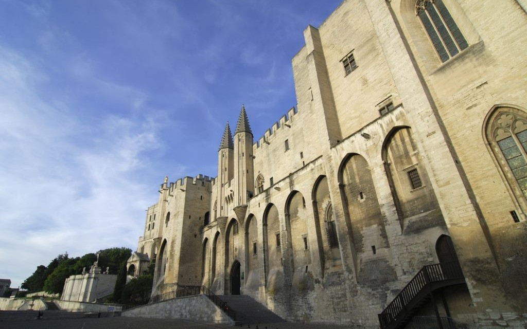 The Palace of the Popes in Avignon, France © Clodio | Dreamstime 48680888