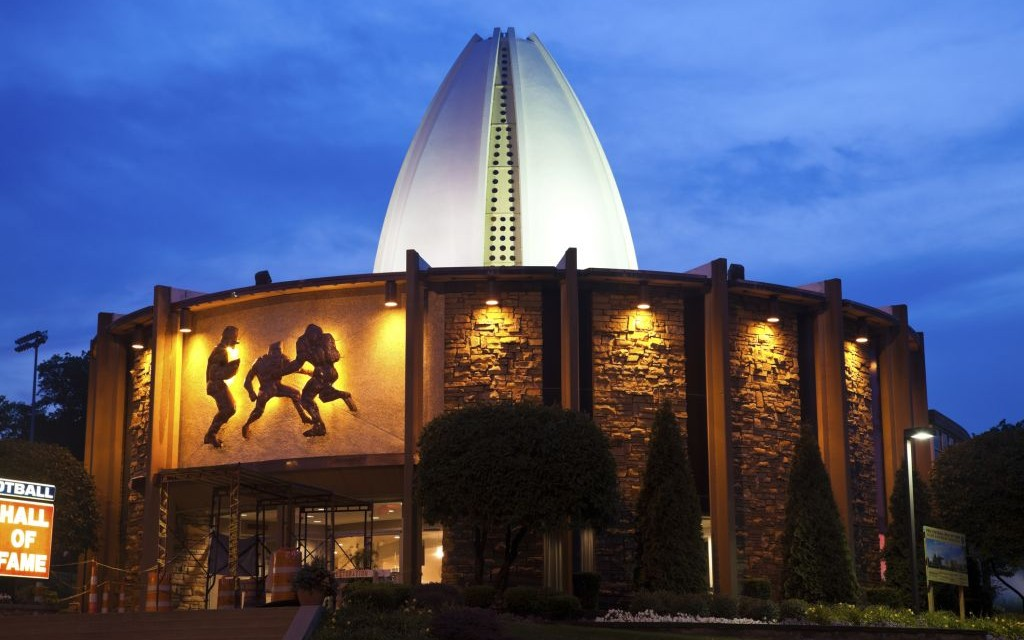 The Pro Football Hall of Fame in Canton, Ohio © Benkrut   Dreamstime 20614894