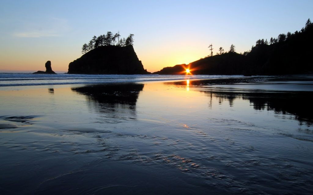 The Keyhole at Second Beach, Olympic National Park, Washington State © Pnwnature | Dreamstime 42540059