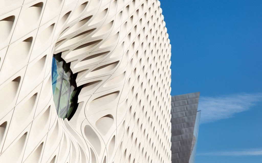 The Broad Museum, Los Angeles, California © Stevehymon | Dreamstime 60573419