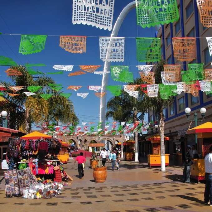 Downtown Tijuana, Mexico © Czuber | Dreamstime 23547639